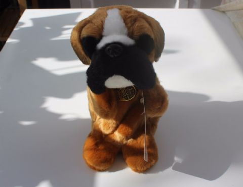 Boxer hand puppet